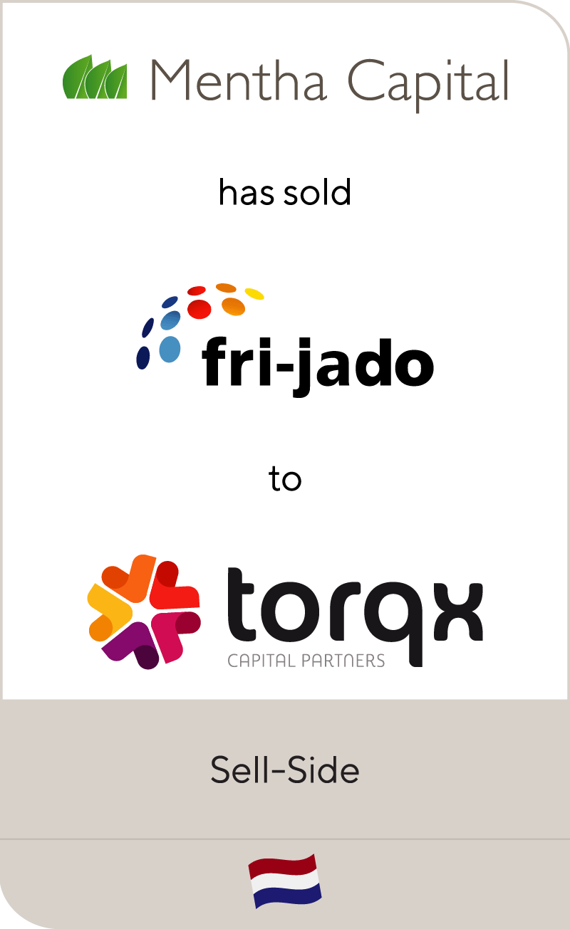 Mentha Capital has sold Fri-jado to Torqx