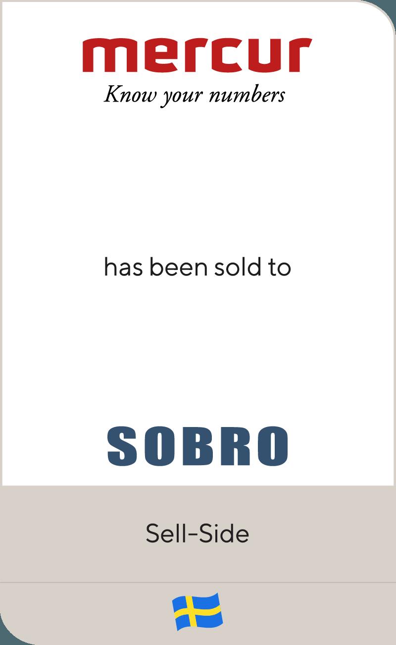 Mercur Solutions Sobro 2018