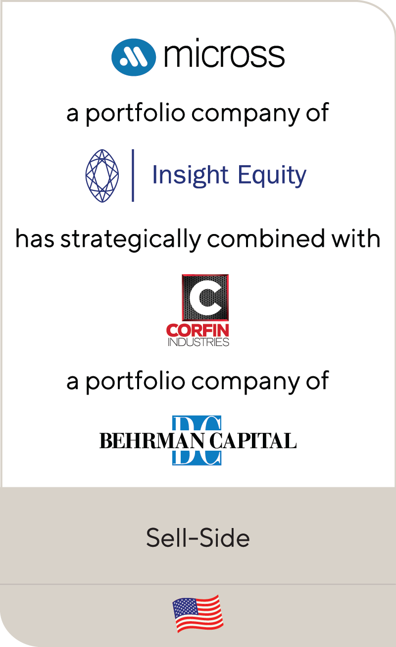 Micross Insight Equity Corfin Industries Behrman Capital 2020
