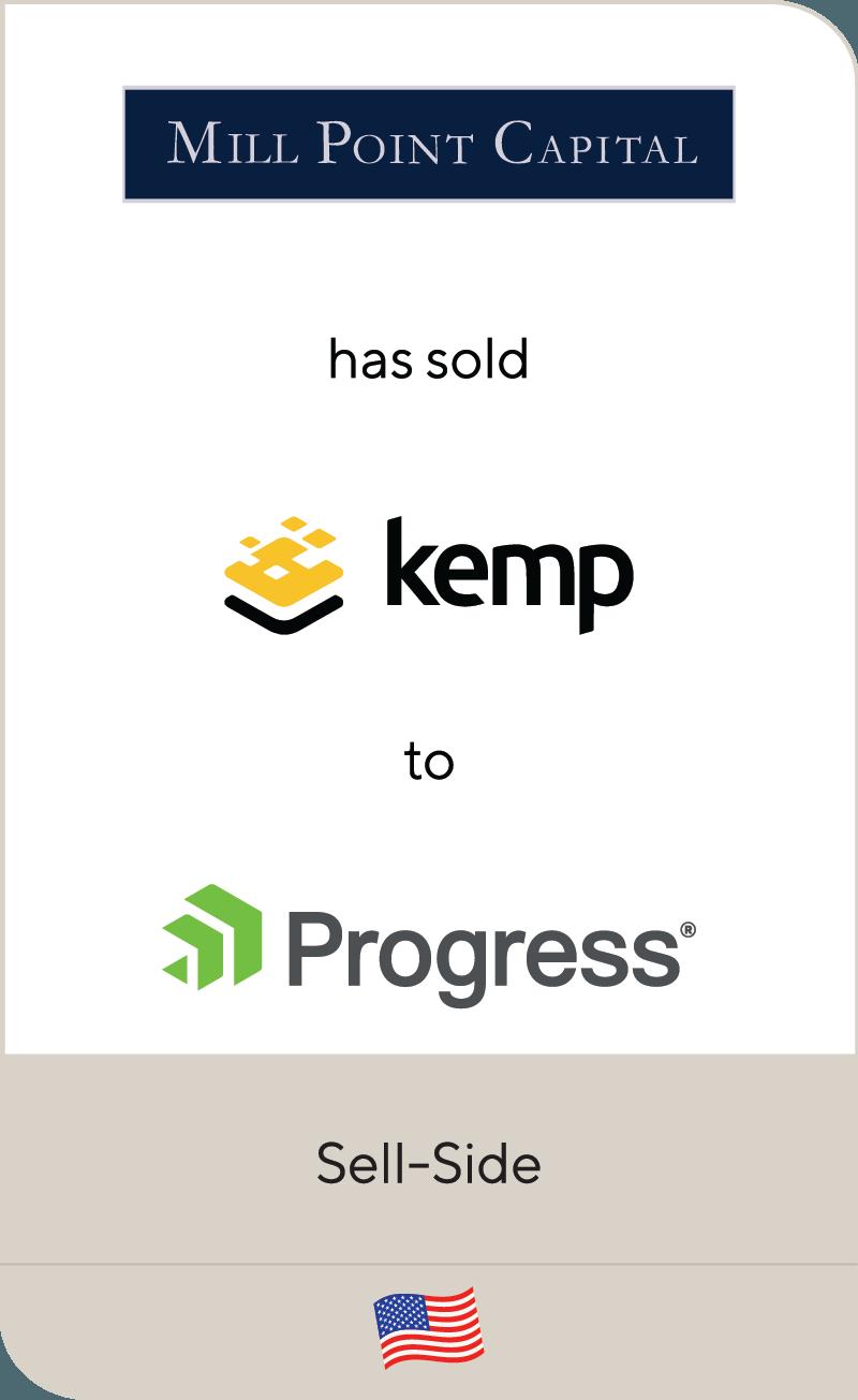 Mill Point Capital Kemp Technologies Progress Software 2021