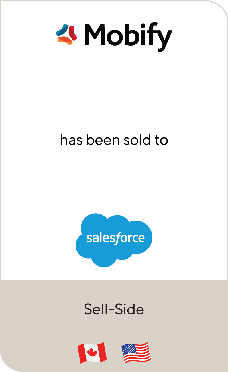 Mobify Salesforce 2020