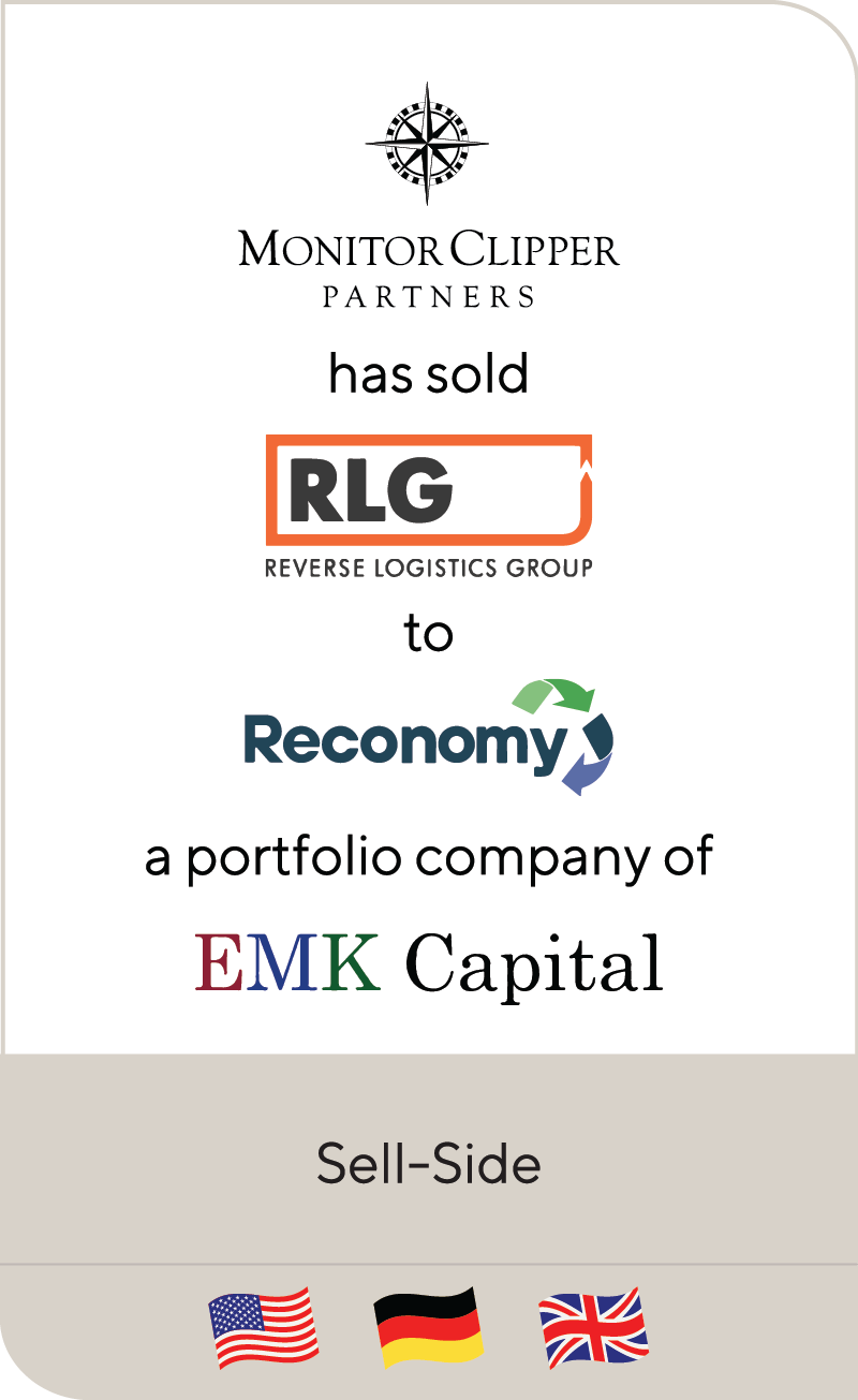 Monitor Clipper Partners Reverse Logistic Group Reconomy EMK Capital 2020