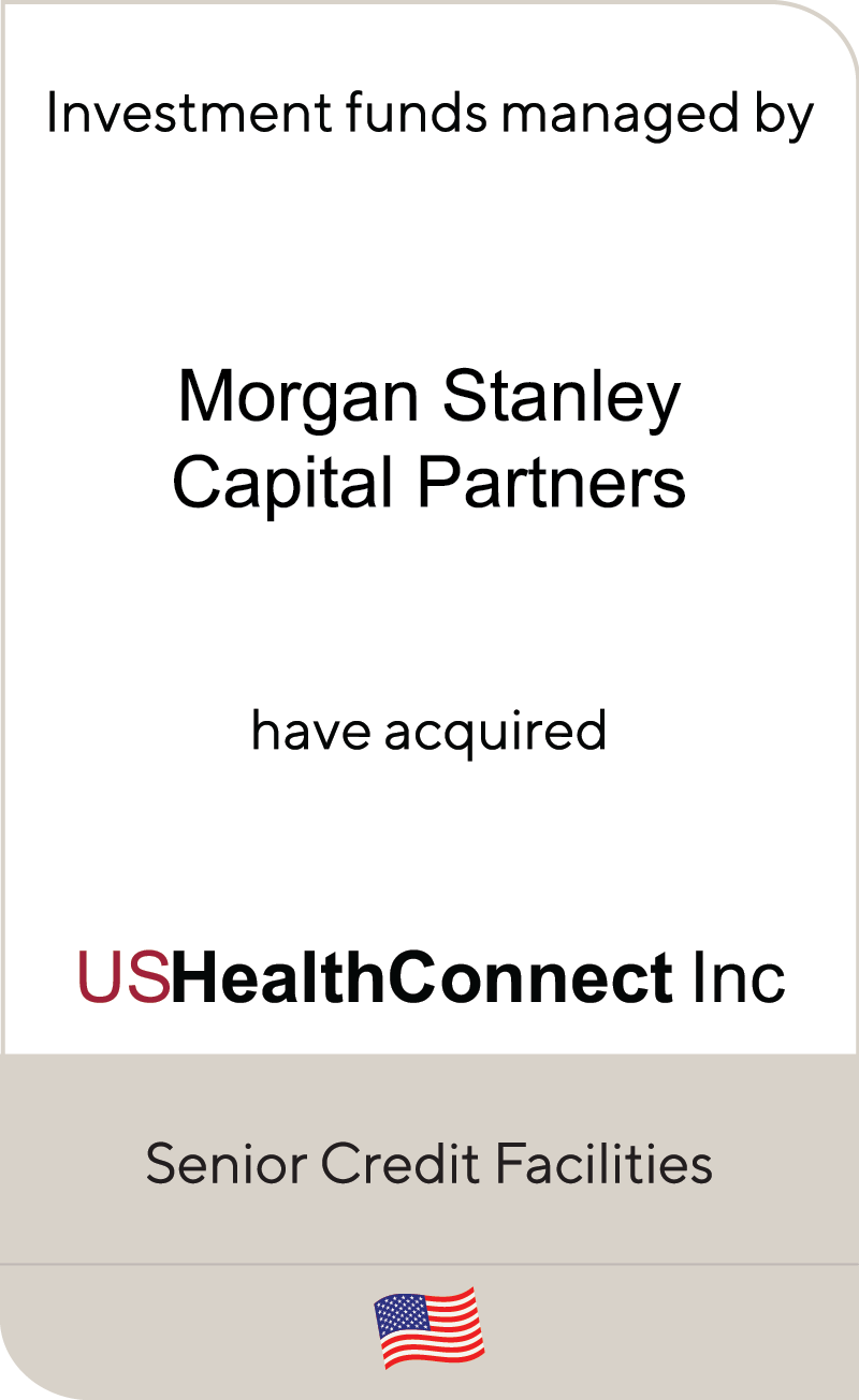 Morgan Stanley Investment Management USHealthConnect Inc 2020