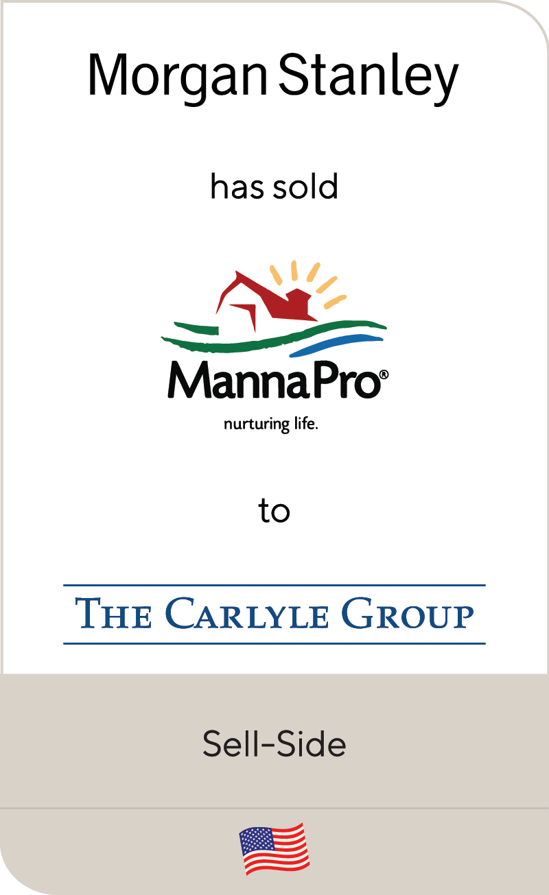 Morgan Stanley MannaPro The Carlyle Group 2020