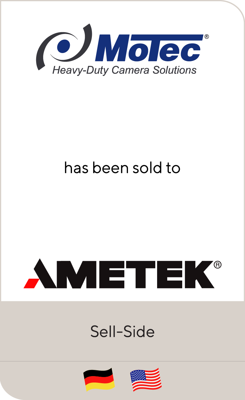 Motec has been sold to AMETEK