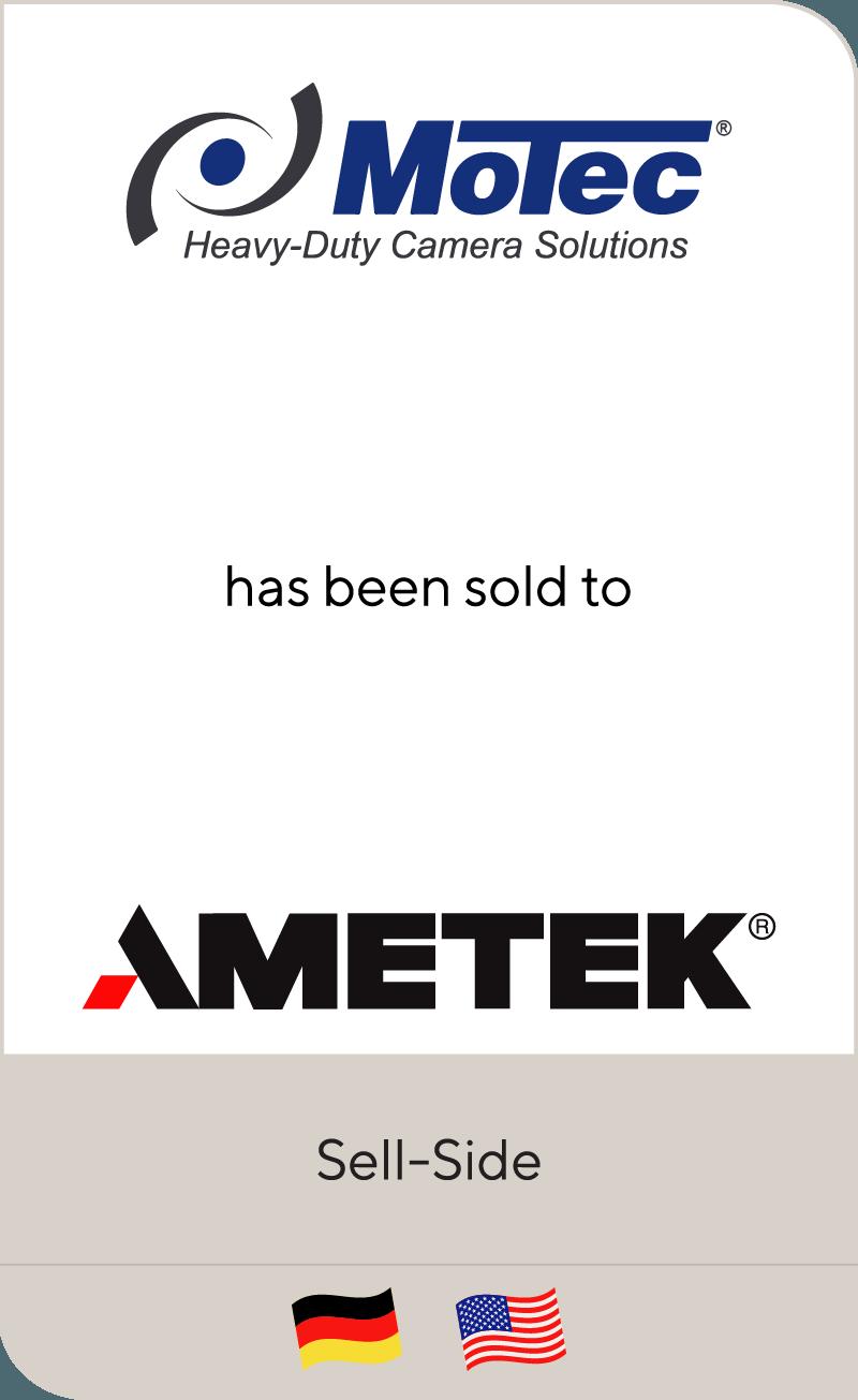Motec has been sold to AMETEK