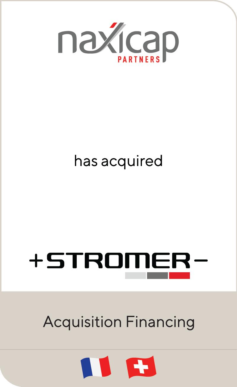 Naxicap Partners MyStromer 2021