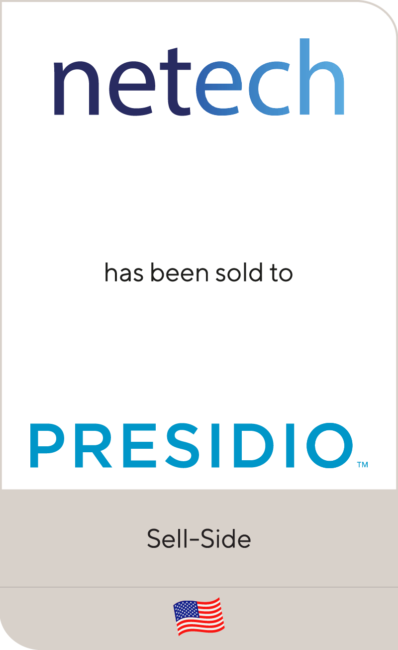 Netech Corporation has been sold to Presidio