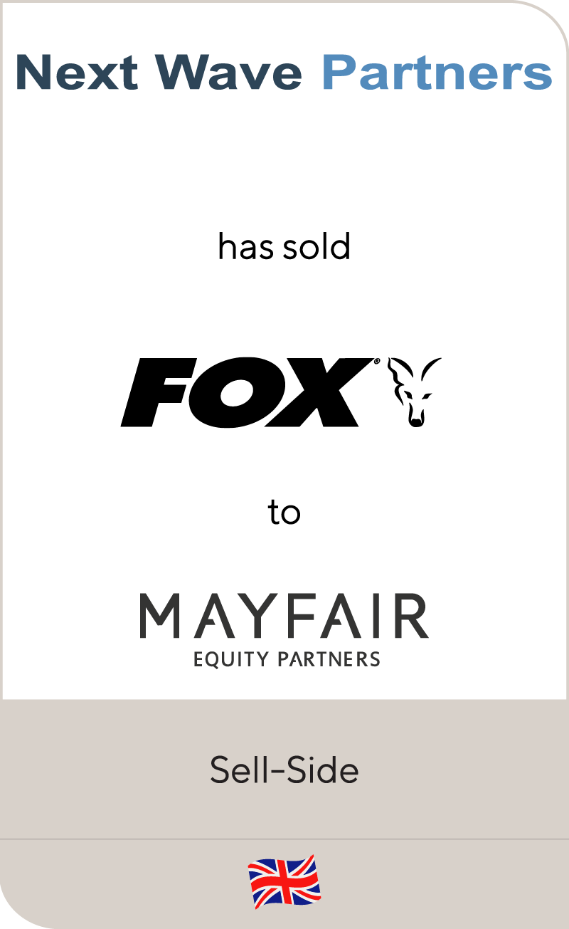 Next Wave Partners has sold Fox International to Mayfair Equity Partners