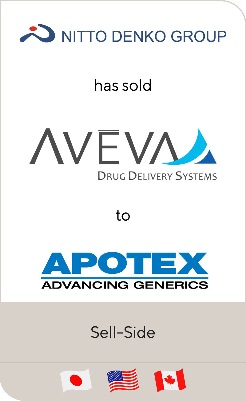 Nitto Denko Group_Aveva_Apotex