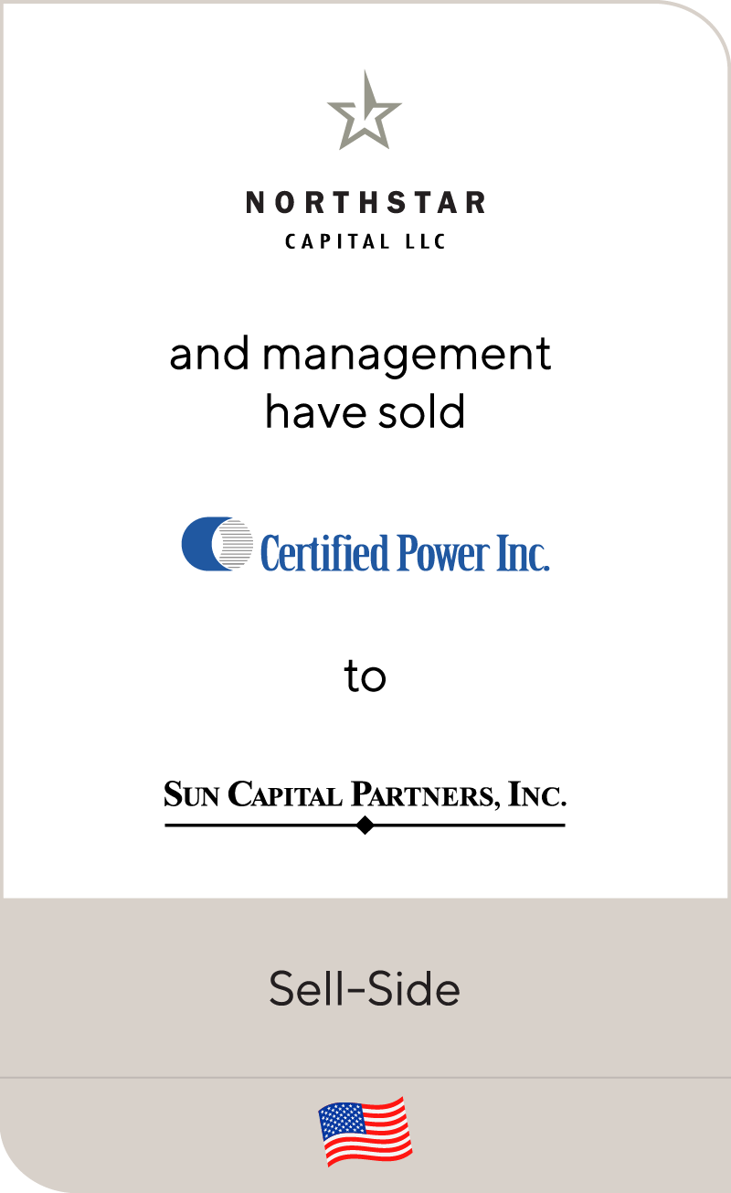 Northstar Capital LLC Certified Power Inc Sun Capital 2012