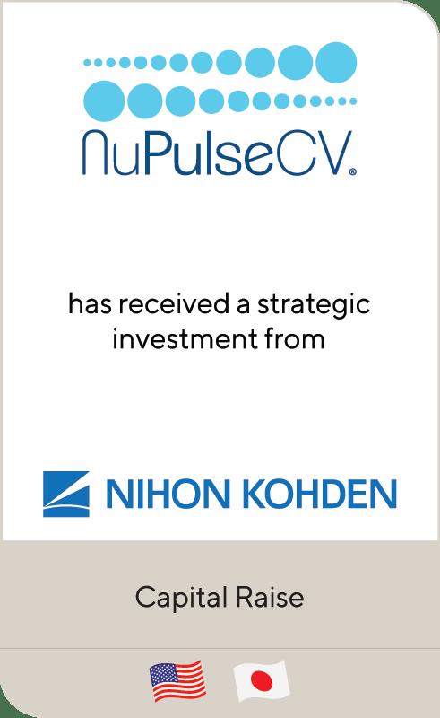 NuPulseCV Nihon Kohden 2019
