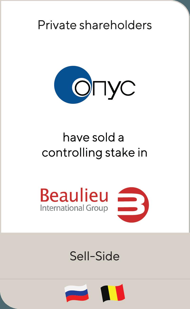 ONYC has been sold to Beaulieu International Group