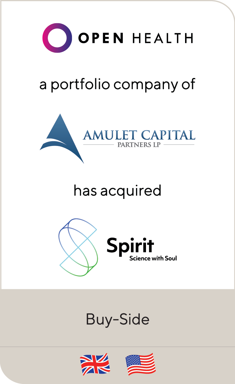 OPEN Health Amulet Capital Spirit Medical Communications 2021