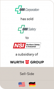 ORR Corporation ORR Safety Northern Safety Wurth Group 2021