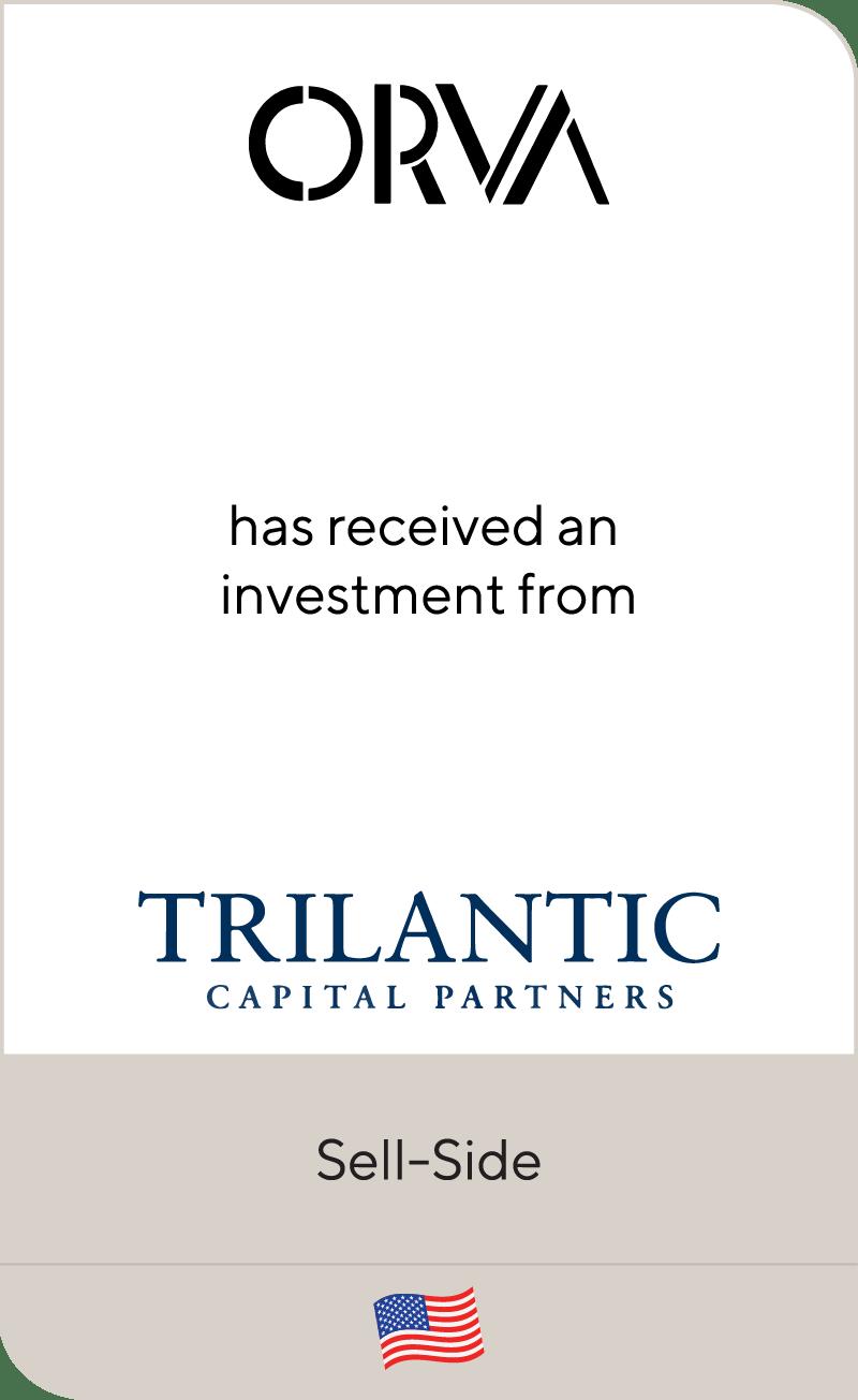 ORVA Trilantic Capital Partners 2020