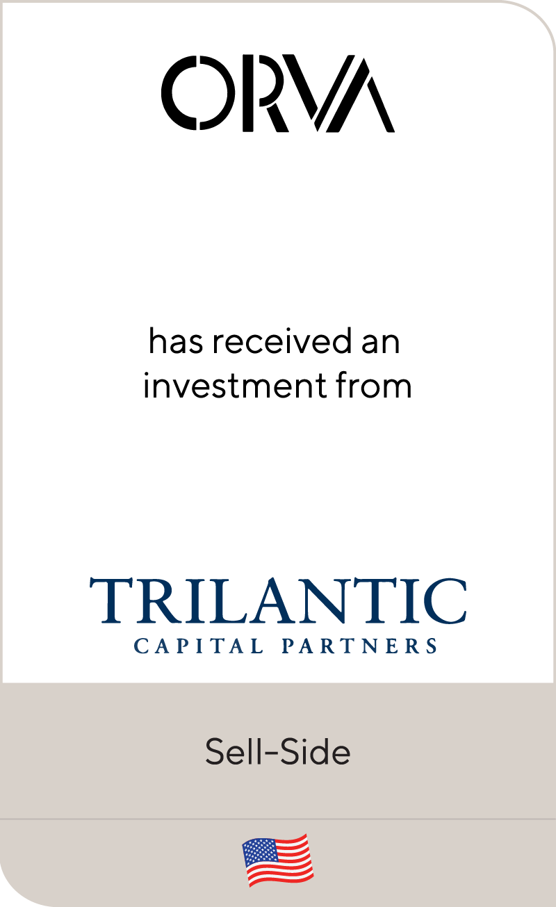 ORVA Trilantic Capital Partners 2020