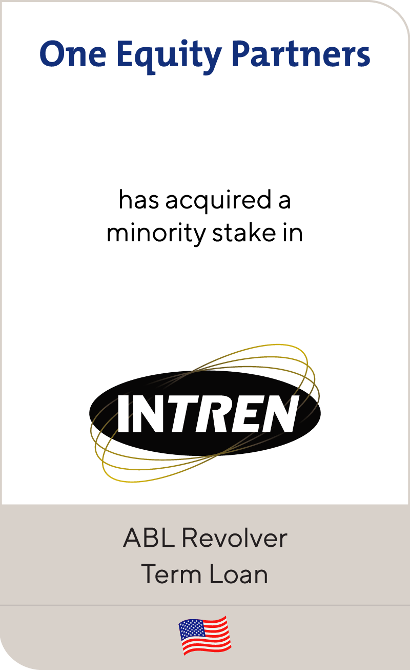 One Equity Partners has acquired Intren