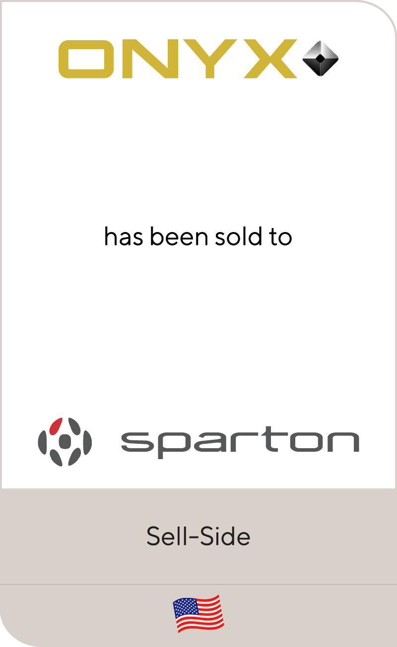 Onyx EMS has been sold to Sparton Corporation
