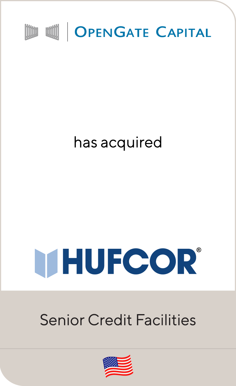 OpenGate Capital has acquired Hufcor