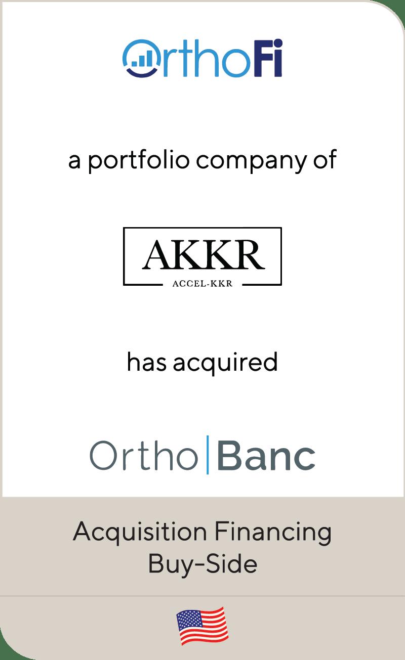 OrthoFi Accel KKR OrthoBanc 2020