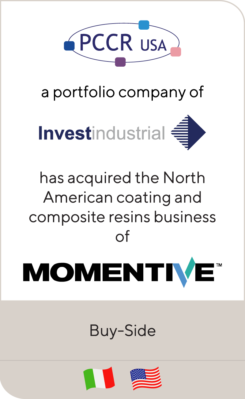 Investindustrial has acquired the composites and coatings business