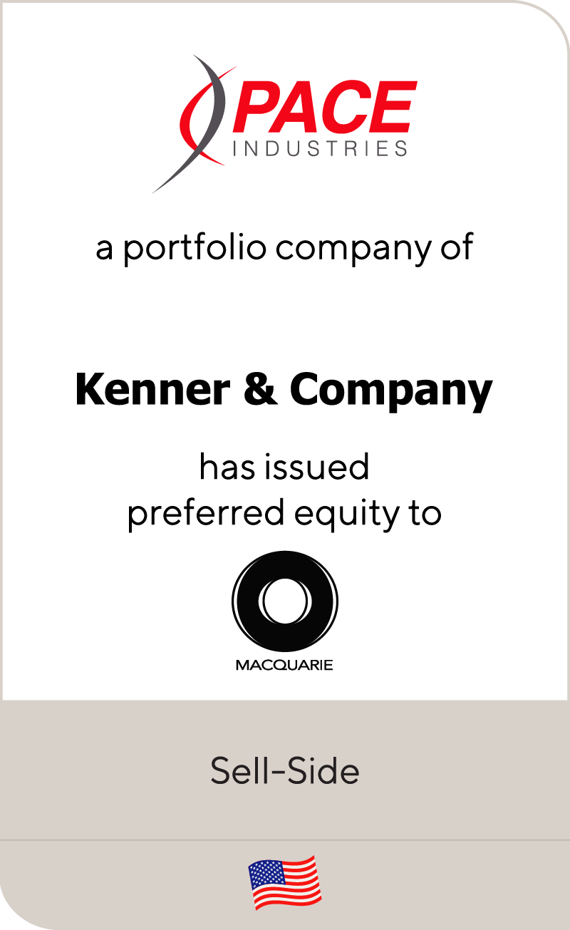 Pace Industries has issued preferred equity