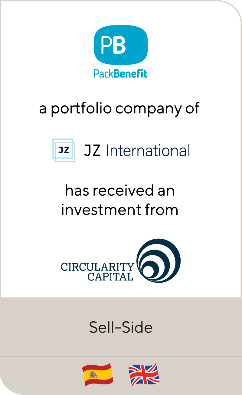 PackBenefit JZ International Circularity Capital 2021