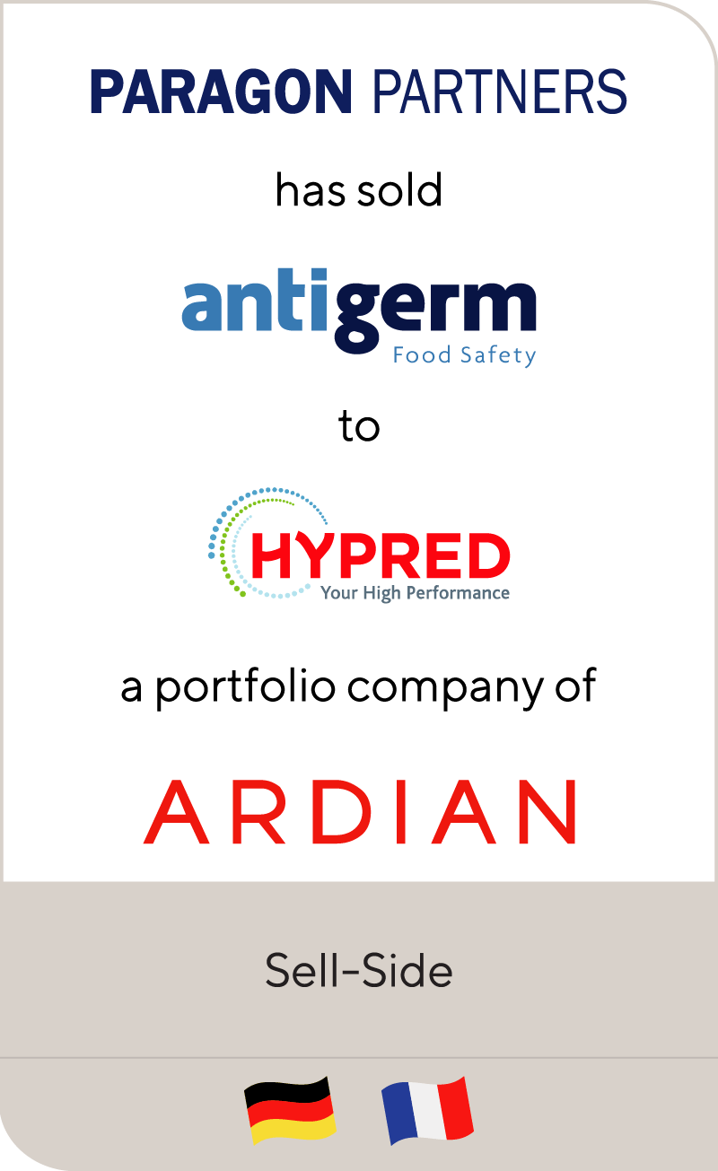 Paragon Partners Antigerm Hypred Ardian 2017