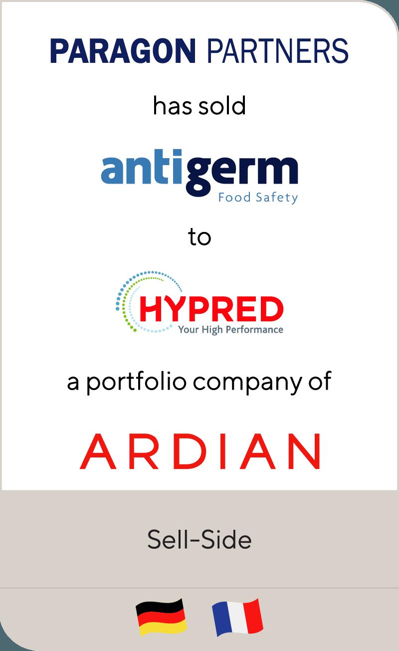 Paragon Partners Antigerm Hypred Ardian 2017