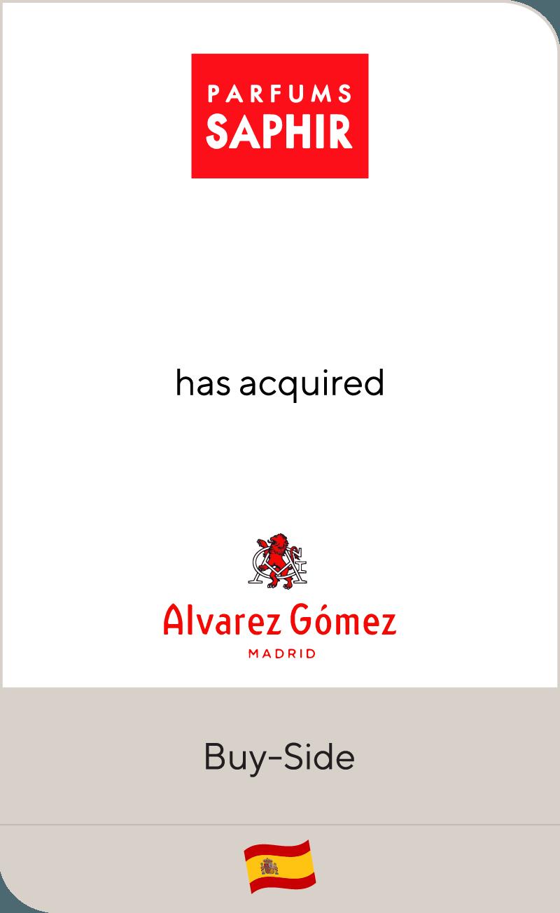 Parfums Saphir Alvarez Gomez 2018