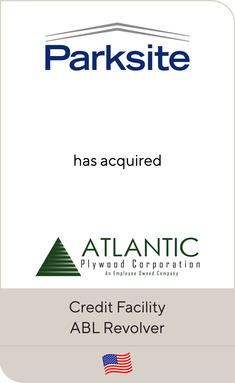 Parksite has acquired Atlantic Plywood Corporation