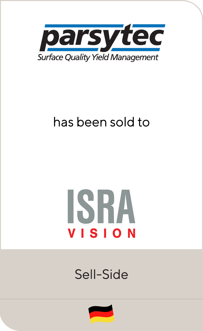 Parsytec AG has been sold to ISRA VISION AG
