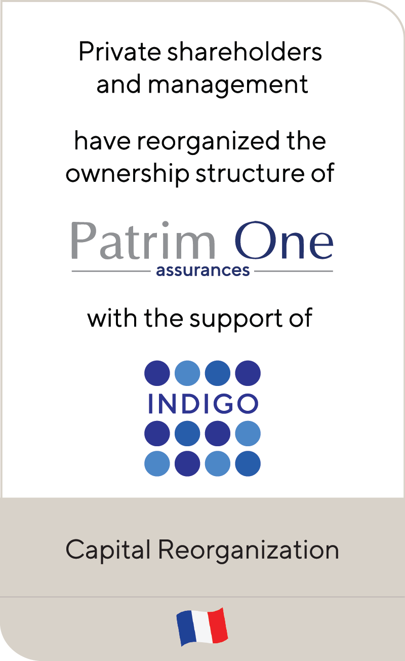 Patrim One Indigo 2020