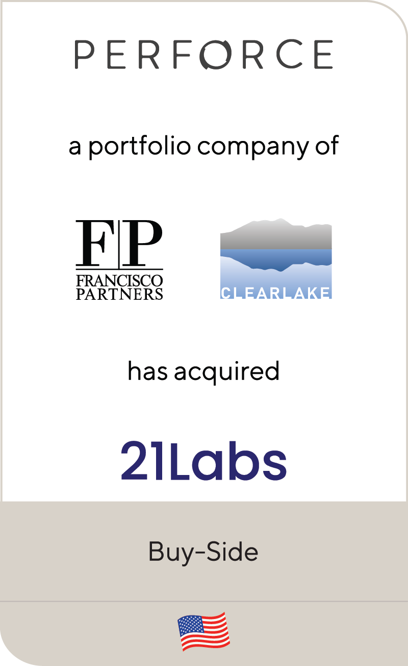 Performance Software ClearLake Capital Francisco Partners 21Labs 2021