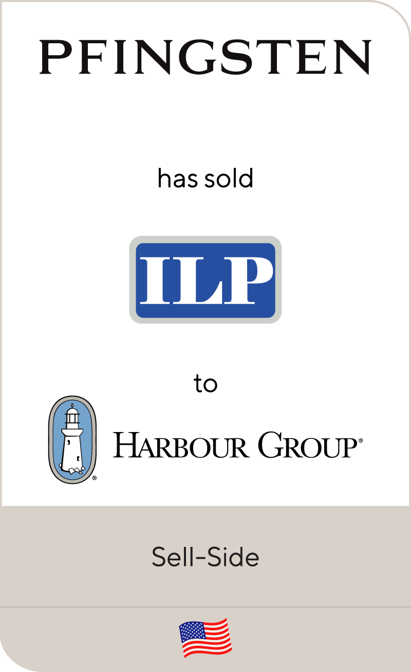Pfingsten has sold Industrial Lighting Products to Harbour Group