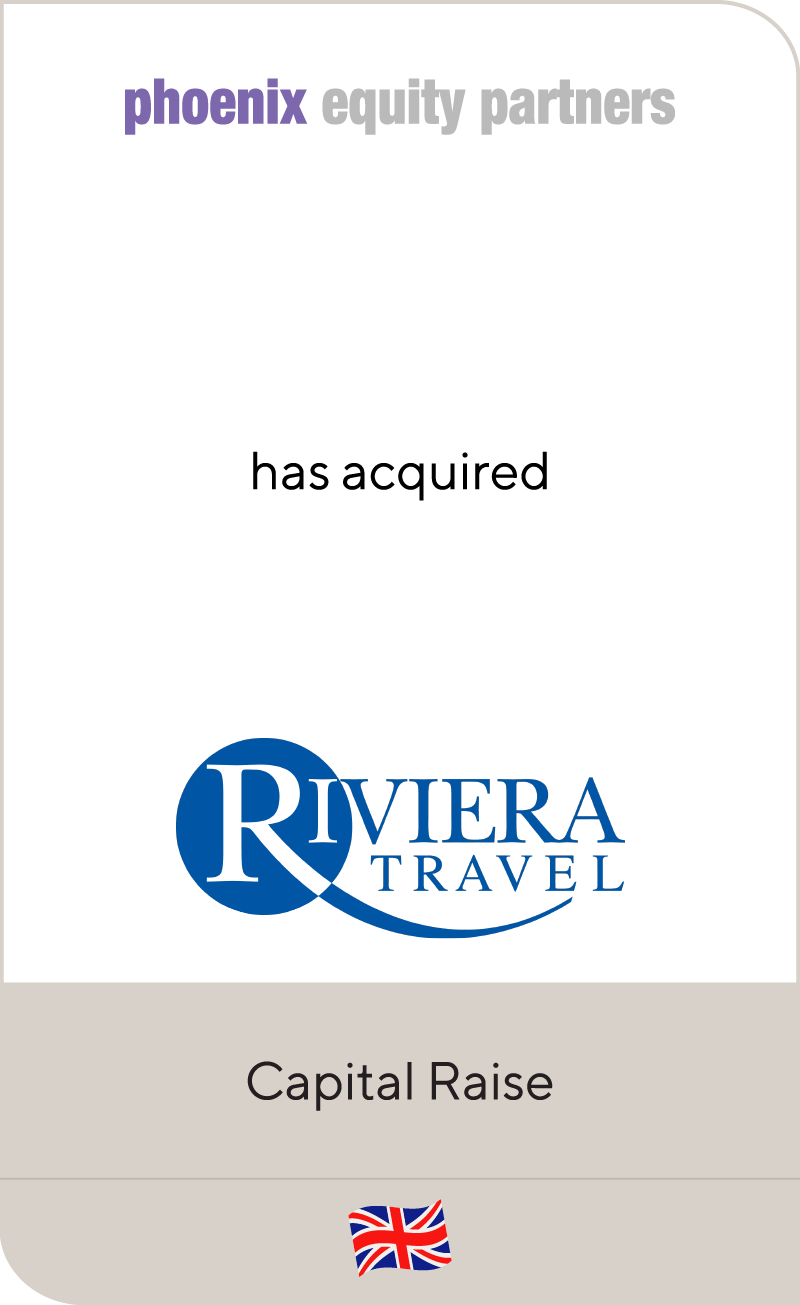 Phoenix Equity Partners has acquired Riviera Travel
