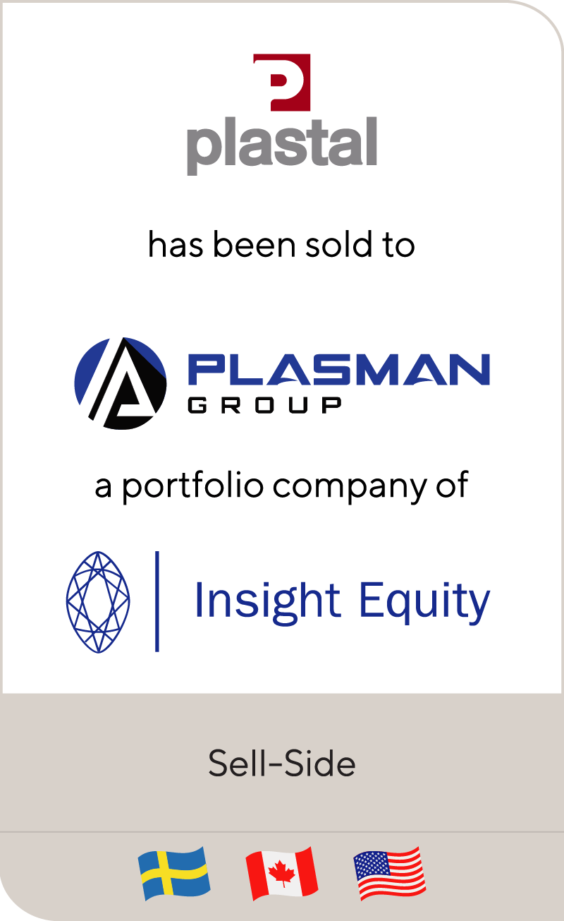 Plastal Industri has been sold to The Plasman Group
