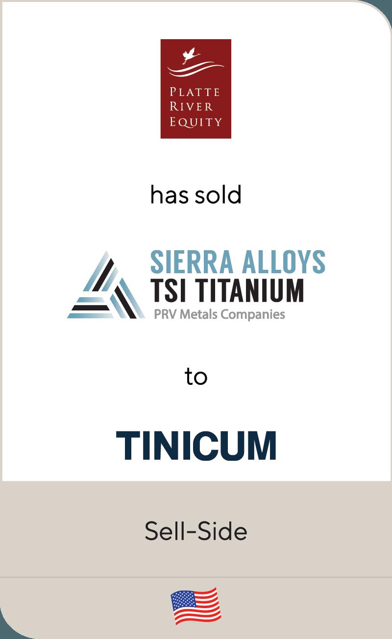 Platte River Equity PRV Metals Tinicum 2019