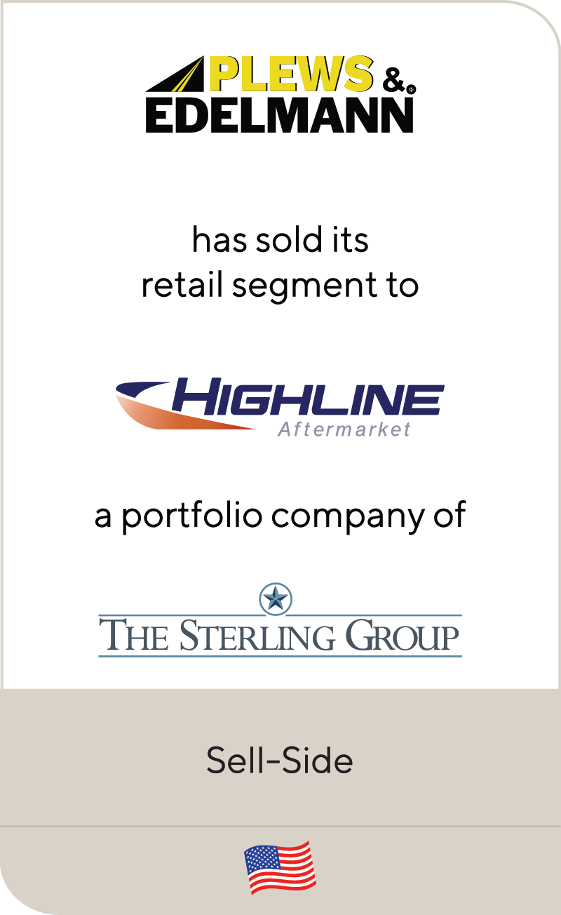 Plews & Edelmann Highline Sterling Group 2020
