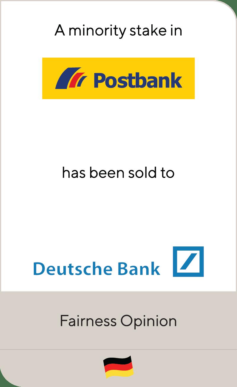 Postbank Deutsche Bank 2008