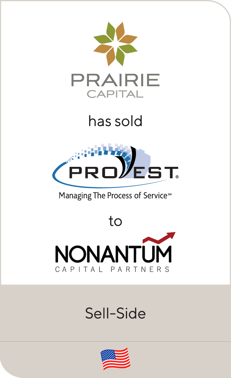 ProVest, a portfolio company of Prairie Capital, has been sold to Nonantum
