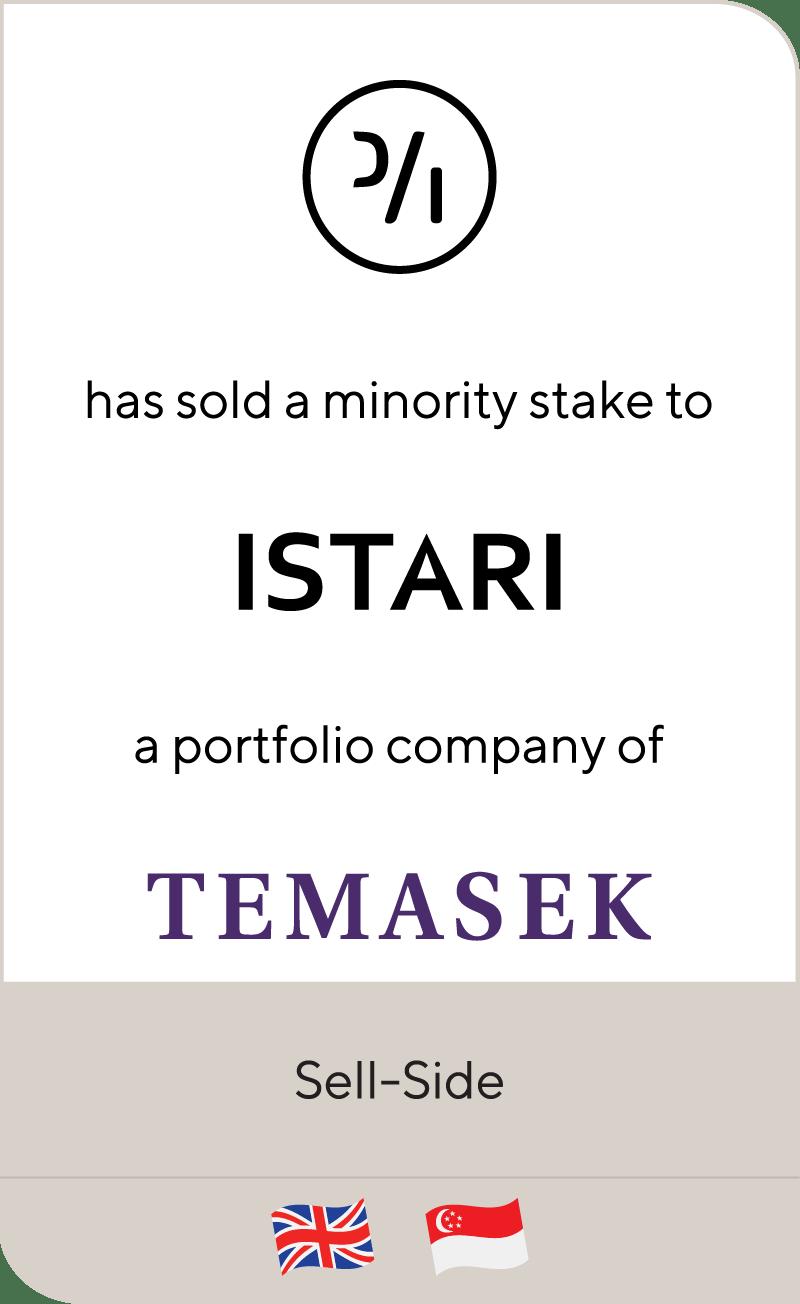 Prevalent AI ISTAR Temasek Holdings 2021