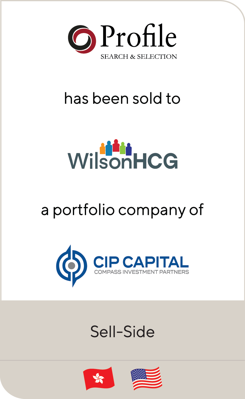 Profile Asia Wilson HCG CIP Capital 2020