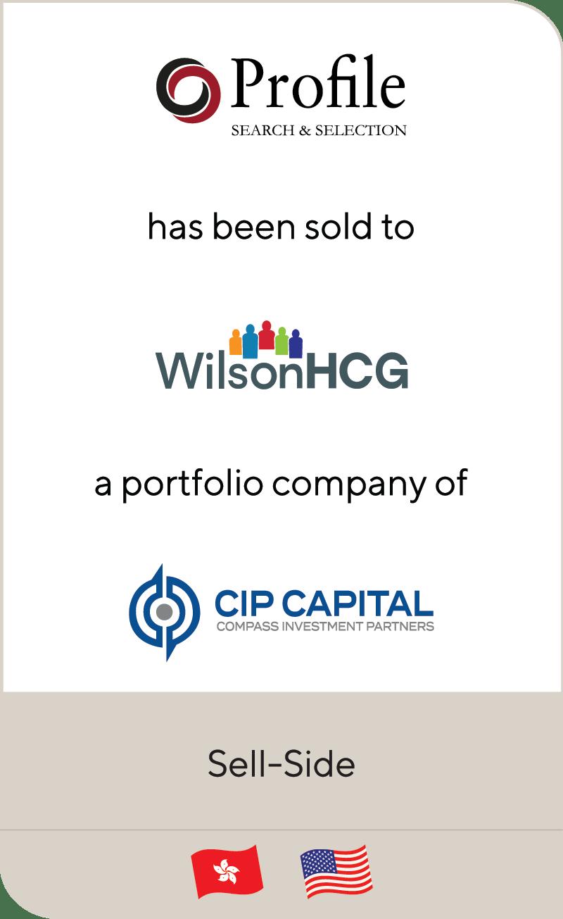 Profile Asia Wilson HCG CIP Capital 2020