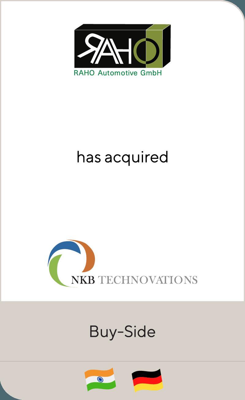 RAHO Automotive GmbH NKB Technovations 2018