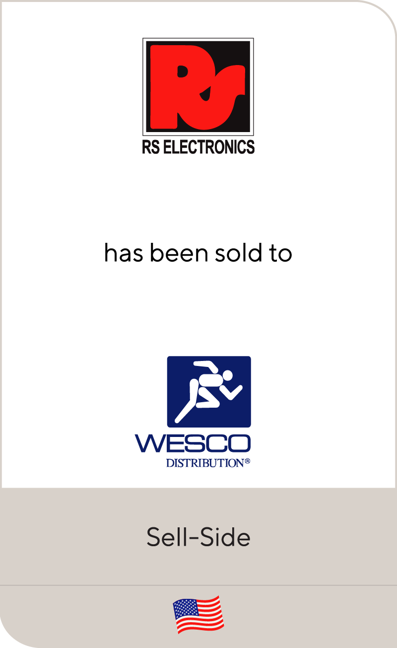RS Electronics WESCO Distribution 2012