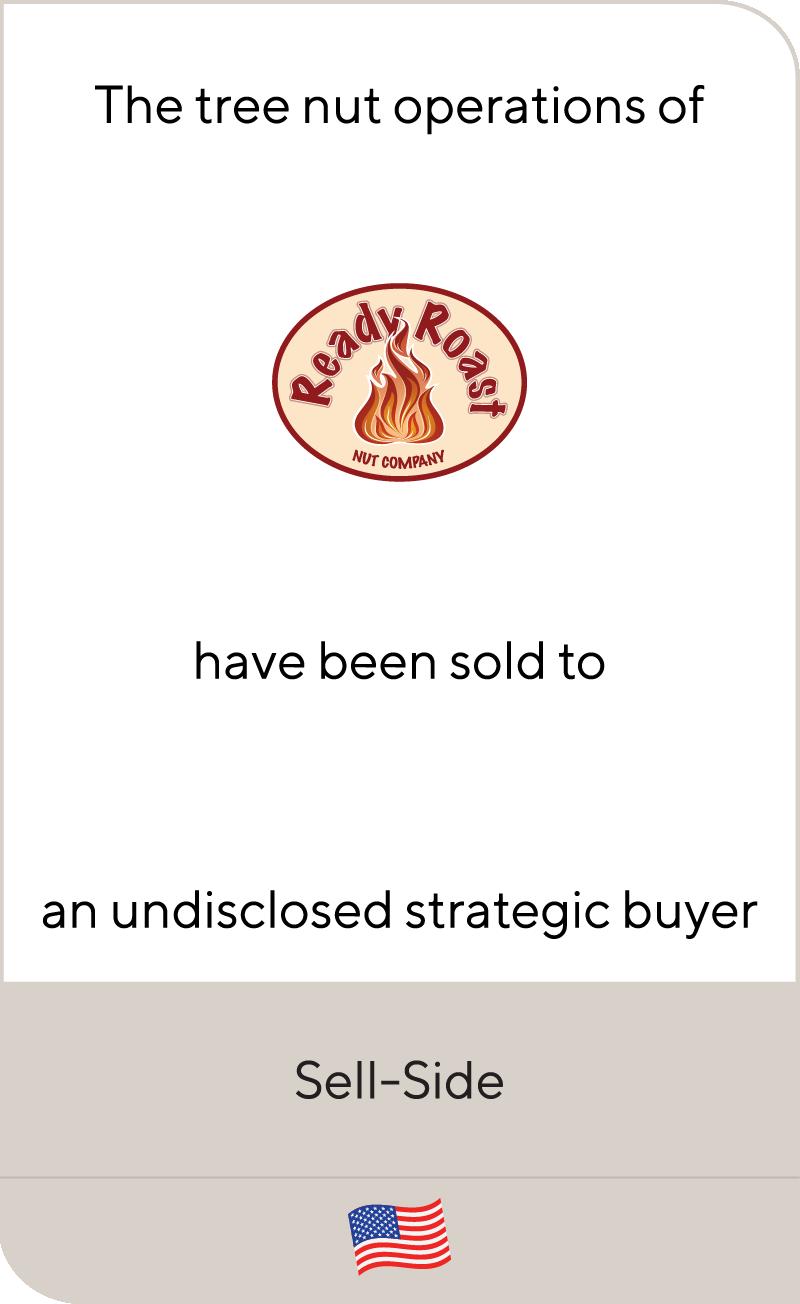 Ready Roast Undisclosed Strategic Buyer 2020