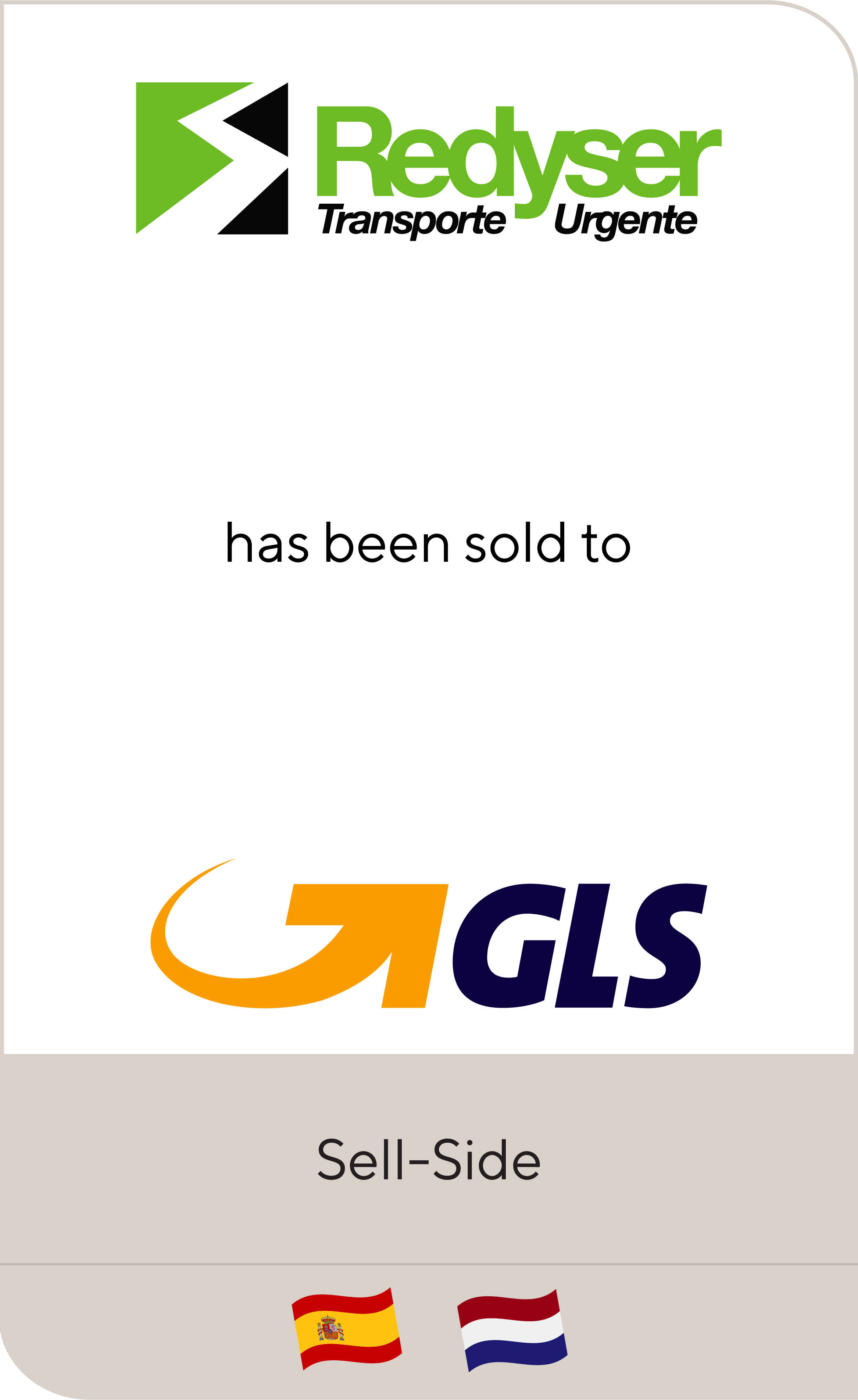 Redyser Transporte has been sold to GLS