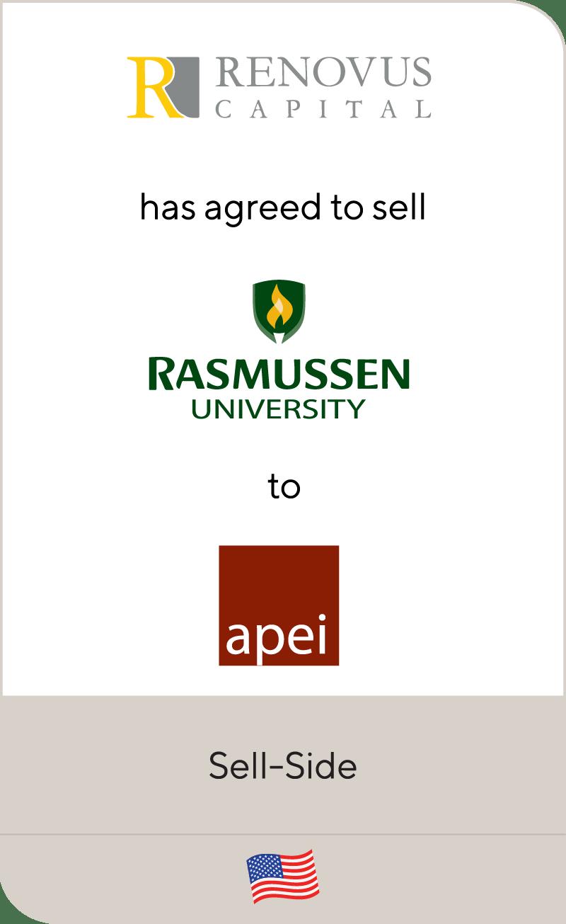 Revovus Capital Rasmussen American Public Education 2021